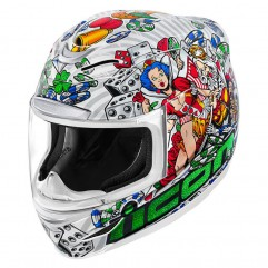 Casque Icon Airmade -  Lucky Lid 2, taille M