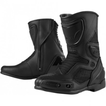 Bottes Icon Overlord Boot Stealth, taille 40.5