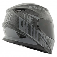 Casque Speed and strength SS1310 noir/gris, taille XL
